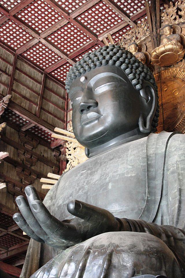 仏像の髪の毛